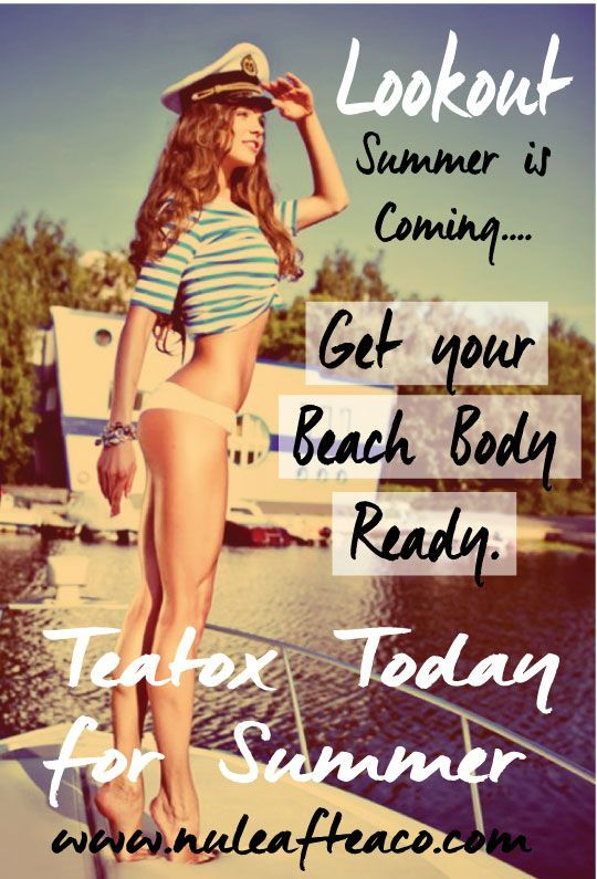 Detox and get ready for summer fun.